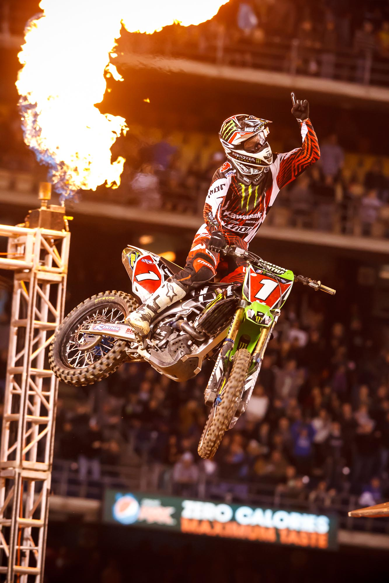 When Monster Worlds Collide NASCAR Meets The Energy Supercross Series