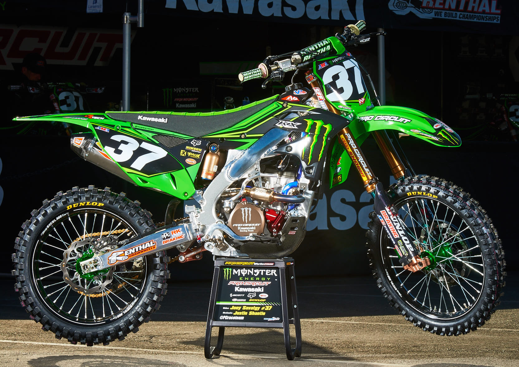 Monster Energy Pro Circuit Kawasaki Team Ready For The