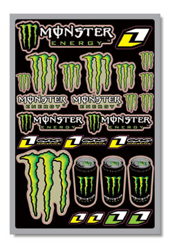 monster energy sticker kit. Black Bedroom Furniture Sets. Home Design Ideas