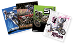 2007 4-Pack Motocross Folders