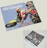 2007 Travis Pastrana Team 199 Calendar