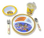 Travis Pastrana Signature Series Kids Dishware