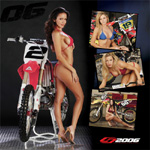 2006 HIGH STAKES MX CALENDAR AND POSTER