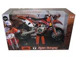 2013 Red Bull KTM 450 SX-F Ryan Dungey 1 Dirt Motorcycle Model 1-12