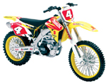 Ricky Carmichael 2007 RMZ 450 1-12 Scale