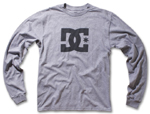 DC Shoes Mens Star LS Grey