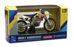 Ricky Carmichael 2006 RMZ 450 1-18 Scale
