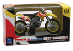 Ricky Carmichael 2007 RMZ 450 1-18 Scale