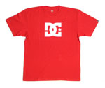 DC Shoes Mens Star t-Shirt Red