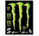 Monster Energy Sticker Kit 2008