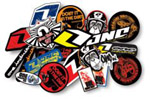 12 Pack Assorted Decals