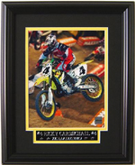 Ricky Carmichael 2004 US Open Framed Photo