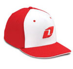 Retro Hat Red White