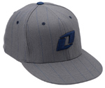 Flexfit Pinstripe Charcoal Youth