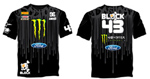 Ken Block DC Shoes Monster Energy Ford t-shirt 2010
