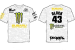 Ken Block DC Shoes Monsters Energy t-shirt
