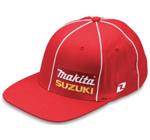 Makita Suzuki Hat Red