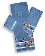 Motocross Bath Towel Set 2008