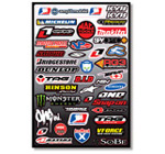 Motocross Industry Sticker Kit 4