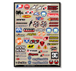 Motocross Industry Sticker Kit 3