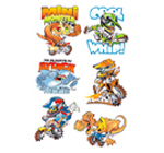 Motocross Tatoonz (Temporary Tattoos)