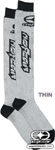 No Fear MX Socks Grey Thin