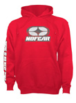 No Fear Logo Hoody