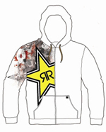 DC Shoes Rockstar Energy Sweatshirt