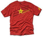 Rockstar Energy t-shirt Red