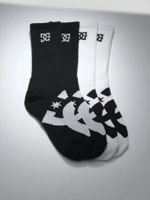 DC Shoes Mens Willis Socks