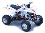 Yamaha YFZ 450 White