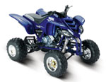 Yamaha Raptor 660R Blue 1.12 Scale