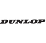 Dunlop Motocross Sticker White