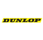 Dunlop Motocross Sticker Yellow
