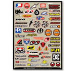 Motocross Industry Sticker Kit 1
