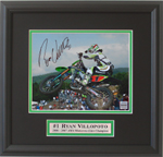 2007 Villopoto Motocross Champion Autographed Framed Photo