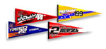 4-Pack Assorted Supercross Pennants