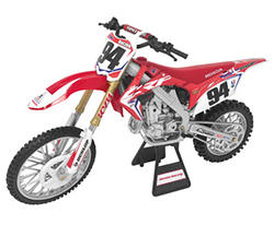 Honda Racing Team CRF450R Ken Roczen 94 Motorcycle Model 1-12 by New Ray