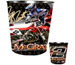 Jeremy McGrath Metal Trash Can 06