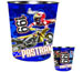 Travis Pastrana Metal Trash Can 06