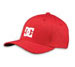 DC Shoes Mens Star Cap Red