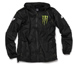 Monster Energy Windbreaker Black