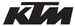 KTM Motocross Sticker