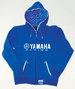 Yamaha Racing Hooded Zip Up Sweatshirt 2009